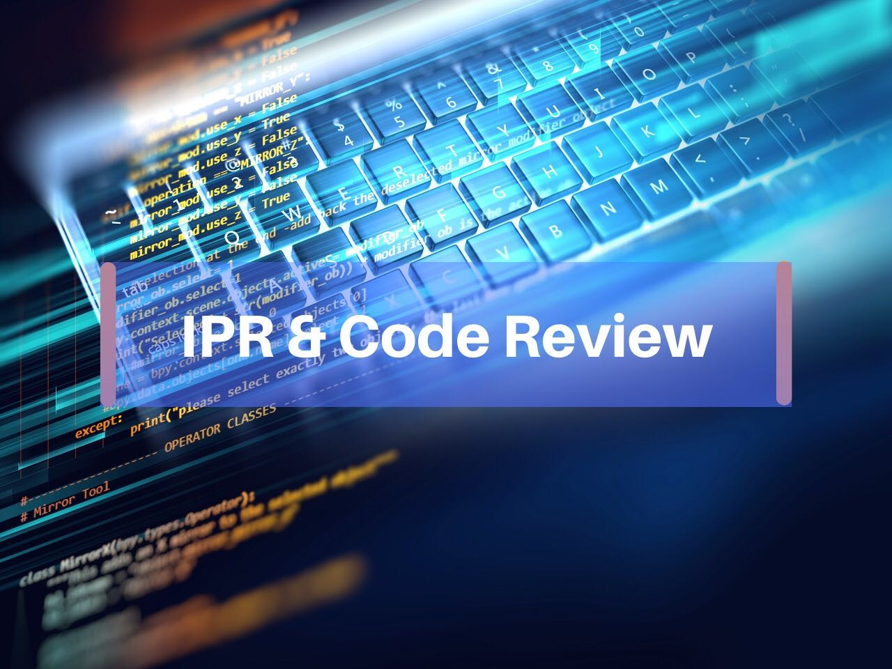 Image result for Intellectual property rights and code review