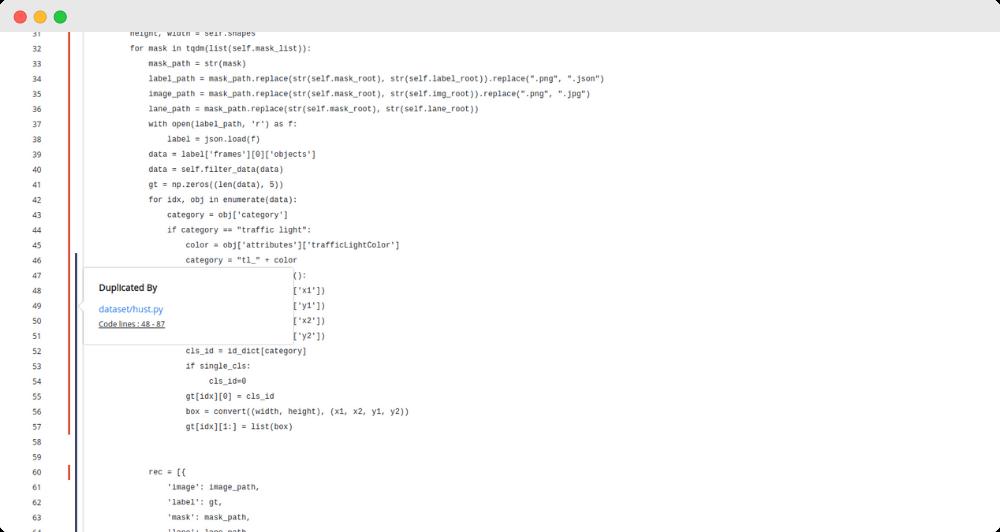 Codegrip Python Duplication
