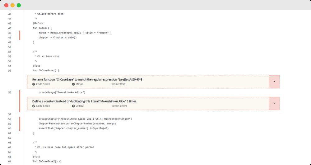 Codegrip Kotlin Code smell